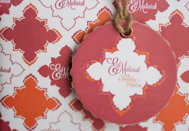 A Crafty Arab: 99 Creative Eid Projects. Eid Mubarak Gift Wrap