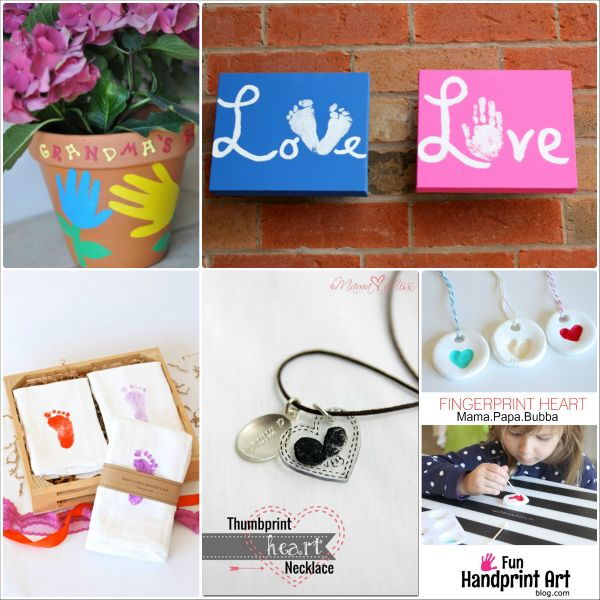 16 handmade mother 39 s day gifts from kids grandparents for Homemade gifts from toddlers to grandparents