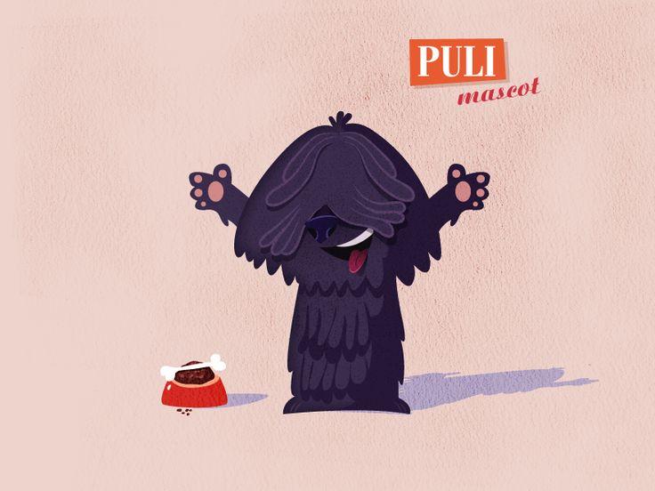 Puli' mascot by billyfox