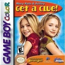 Mary Kate & Ashley Get A Clue! - Game Boy Color Game