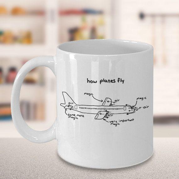 How Planes Fly  Aerospace Engineer 11oz Mug