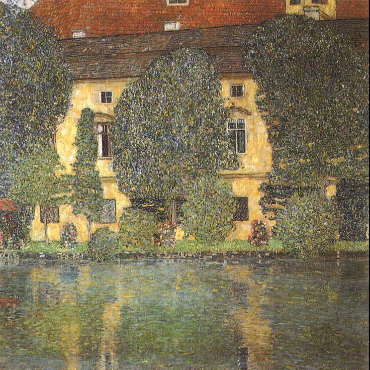 Gustav Klimt (July 14, 1862 – February 6, 1918) Schloss Kammer Attersee III Oil on canvas, 1910 110 × 110 cm The Österreichische Galerie Belvedere, Belvedere palace, Vienna, Austria