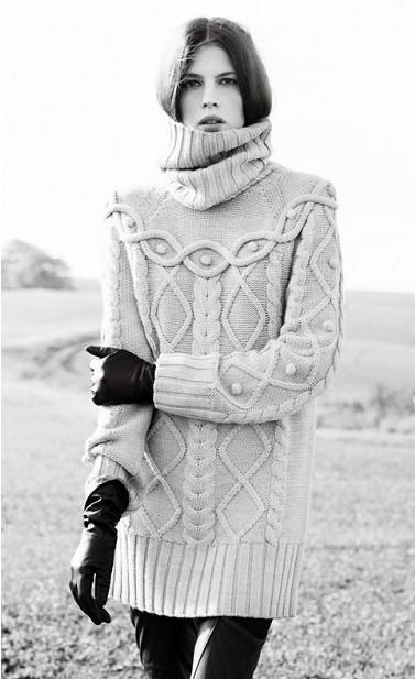 Autumn/Winter Inspiration: #Knitwear #fashion