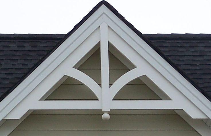 Gable pediment 201 2019 home ideas gable trim house - Exterior house gable decorations ...