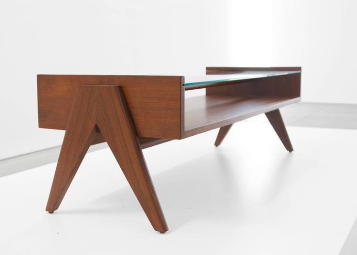 Pierre Jeanneret Coffee Table from Chandigarh 2