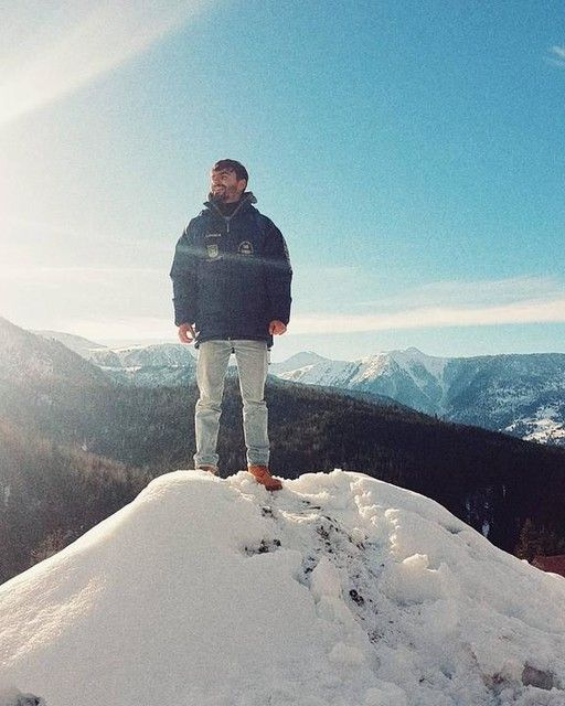 #winter #men #mountains #view #holiday  #friends #best #time #love #life #snow #sky #sunny #day #cold #timberland #jeans #edit #top #romania #follow #your #dream #tarus_victor ❄🏔❤♚♏💪