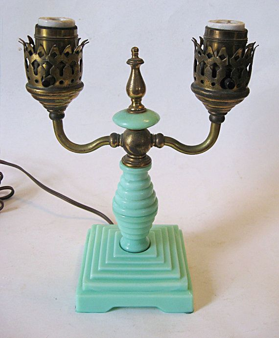 270 Best Jadite Electric Lamps Images On Pinterest