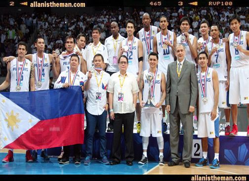 Philippines climb up 11 places in the FIBA World Men's Rankings | http://www.allanistheman.com/2013/09/Philippines-climb-up-11-places-in-the-FIBA-World-Ranking.html