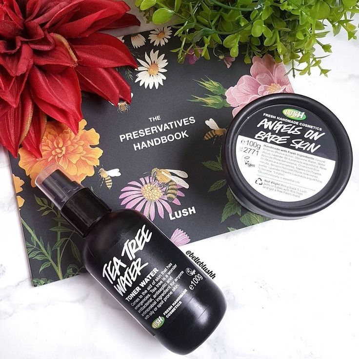 A little bit old and a little bit new  Decided to repurchase the @LUSHSouthAfrica Angel's on Bare Skin and opted to try out the Tea Tree Water Toner  Onwards and upwards to better skin  #belleblushh #makeup #makeuplover #makeupjunkie #makeupstash #makeupfix #fakeupfix #hudabeauty #blogger #beautyblogger #bbloggers #instagood #instadaily #love #lush #lushskincare #lushsa
