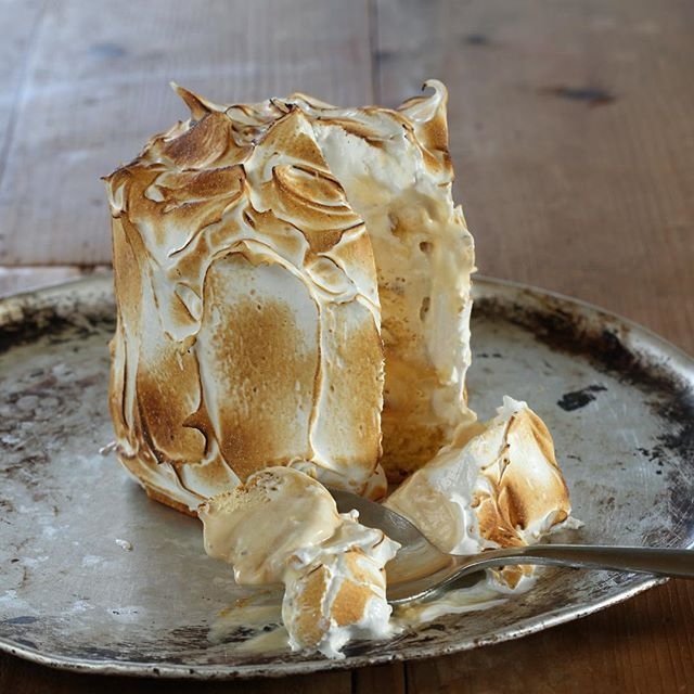 Bombe Alaska with Maggie's Ice Cream - Maggie Beer