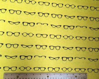 Glasses Fabric YARD