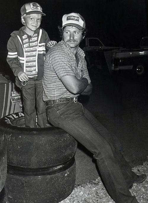 Dale Earnhardt Sr. and Dale Earnhardt Jr.