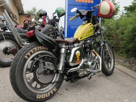 Sportster from Joutsa Chopper