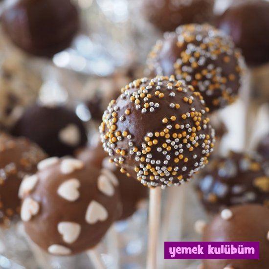 Cake Pops tarifi nasıl yapılır, Cake Pops yapımı yapılışı, çocuklar için Cake Pops nasıl yapılır,