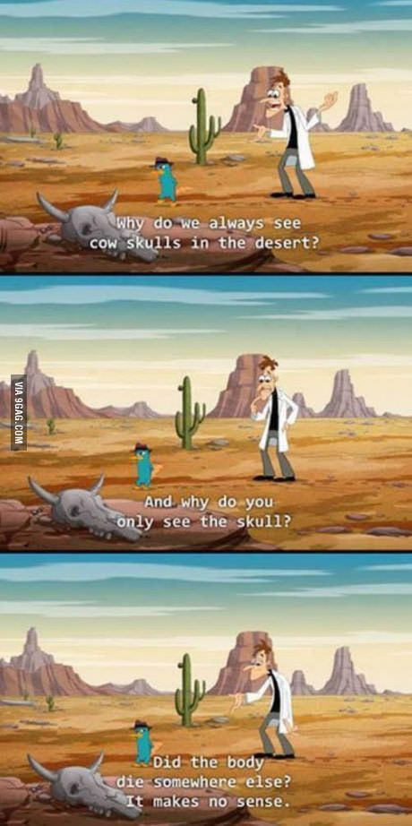 A really good question (Phineas and Ferb) and the reason Phineas and Ferb is the best EVAR!