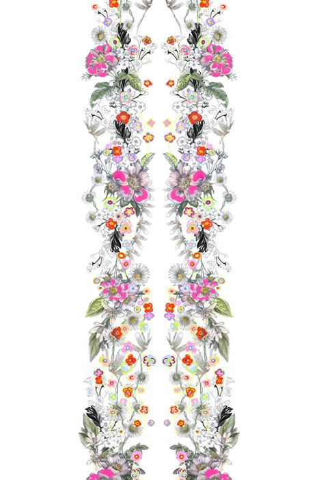 Matthew Williamson spring/summer 2014 Wild Botanical print. #MatthewWilliamson #SS14 #Prints
