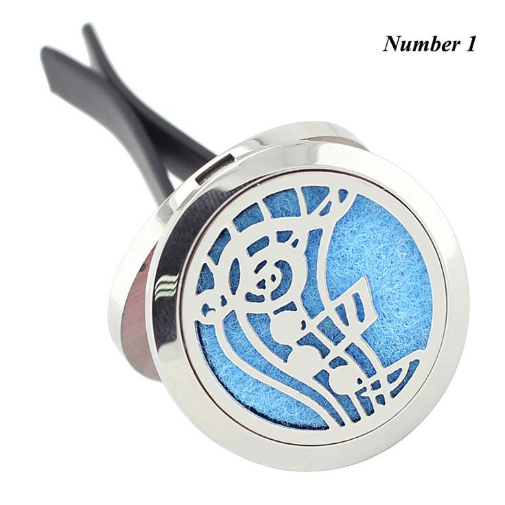 Wholesale New Car Perfume Locket Vent Clip 30mm 316L Stainless Steel Round Shape Magnetics Car Amoratherapy Diffuser Lockets //Price: $18.32 & FREE Shipping //     #hashtag3