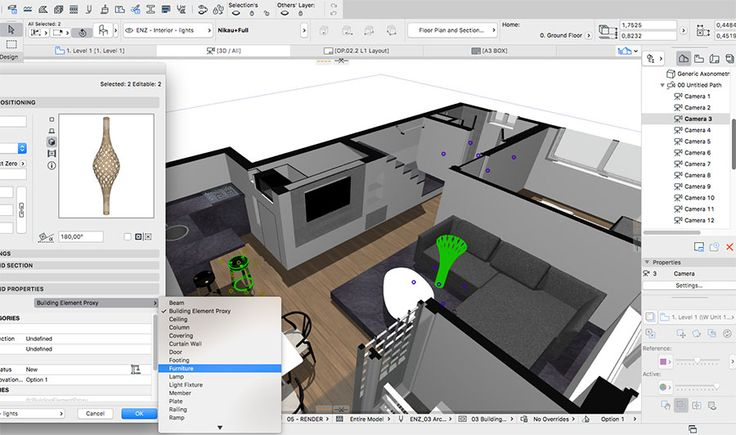 Managing BIM ARCHICAD Libraries I: Importing 3DS and SketchUp Objects