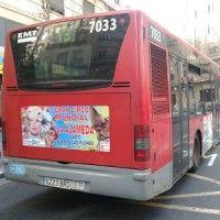 Publicidad autobús Valencia - GRAN CIRCO MUNDIAL – NAVIDAD 2012