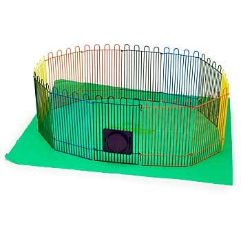 Super Pet Small Animal Playpen Cold Noses Warm Hearts