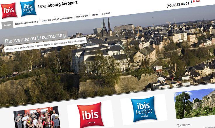 Sortie officielle du nouveau site internet de l'hôtel Ibis #Luxembourg Aéroport http://www.hotel-ibis-luxembourg.com