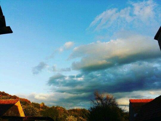 My autumn sky right now..