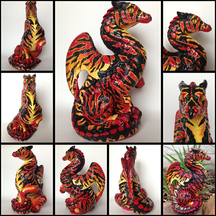 Autumn Flame Tiger # 1 Painted by Branzyboo (Brandy Hlady) (sold)