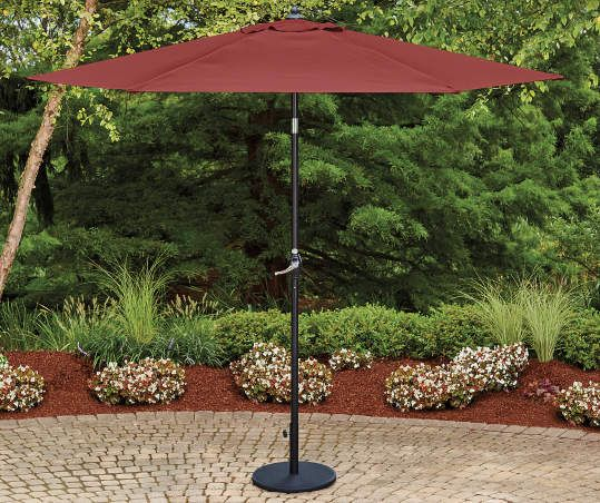 Wilson Fisher Wilson Fisher Market Patio Umbrellas 9 Big Lots In 2020 Patio Umbrellas Patio Umbrella Outdoor Umbrella Stand