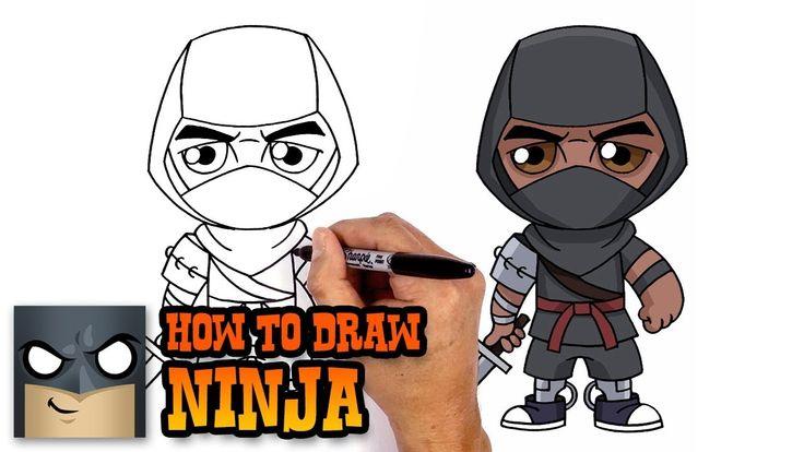 How To Draw Ninja Fortnite Art Tutorial Art In 2019
