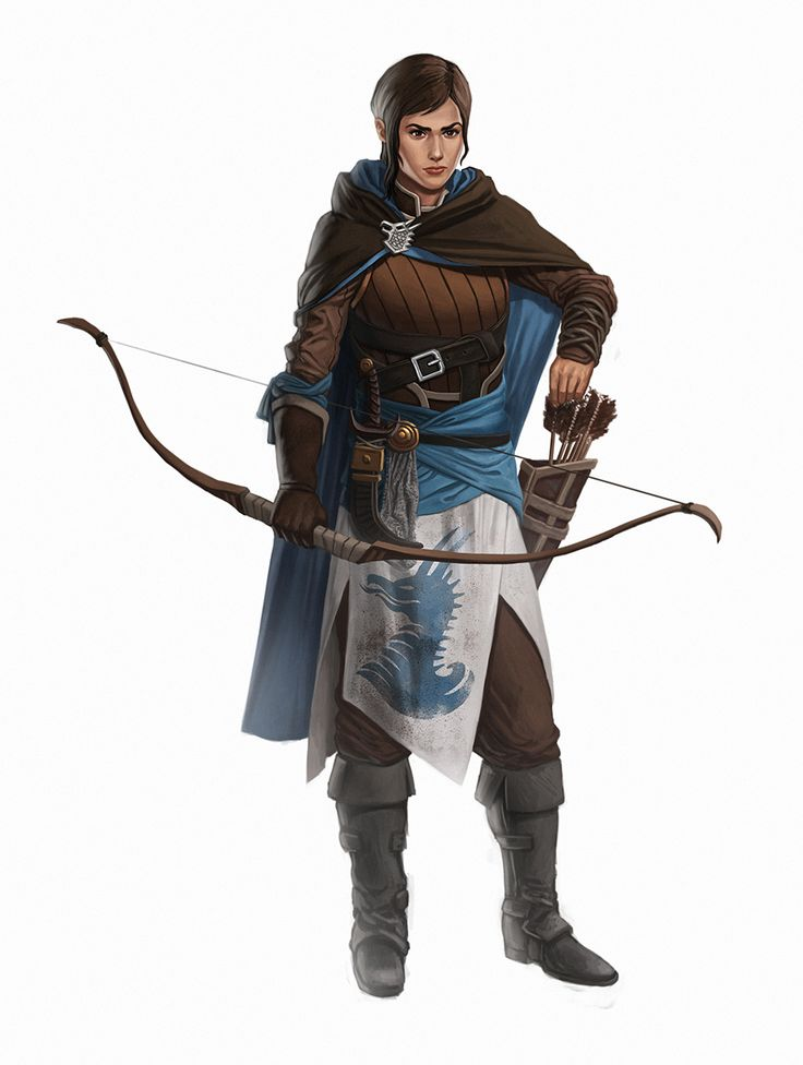 Keepers Of The Realm #3: Blue Archer by iamagri.deviantart.com on @deviantART