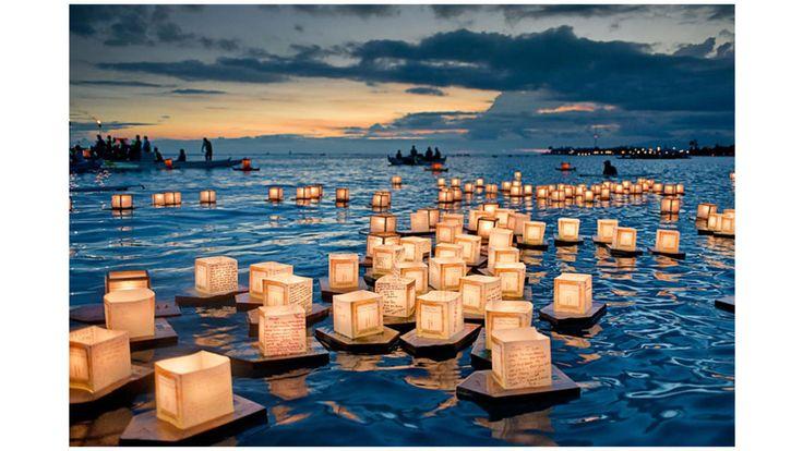 Festival de las linternas flotantes (Hawái)