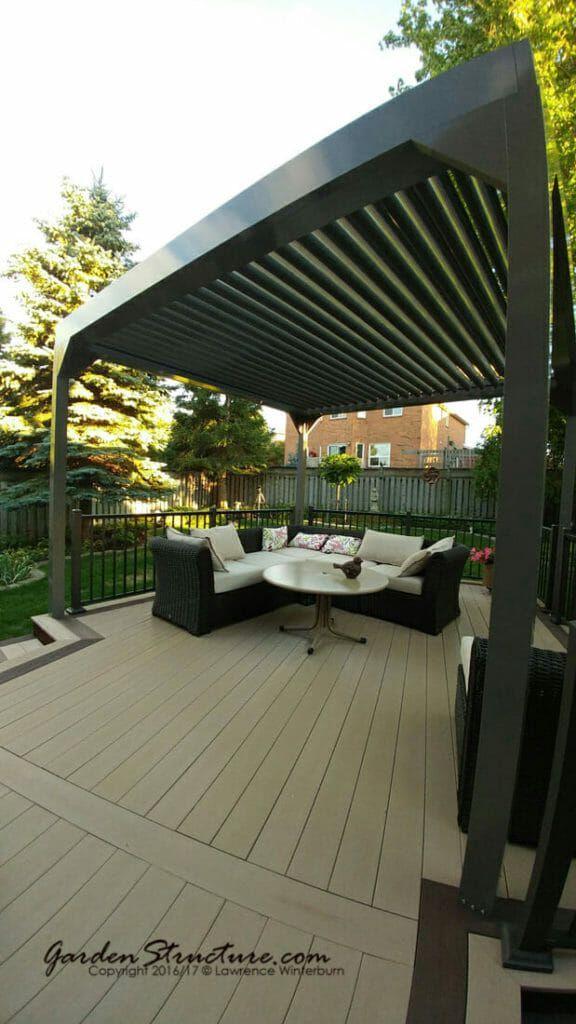 Decks With Roofs In Gravenhurst Outdoor Pergola Pergola Patio Pergola Plans
