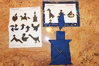 Tangrams are great way to keep your kids minds in action. For older kids use tangram patterns without the solutions and let try to figure it out.