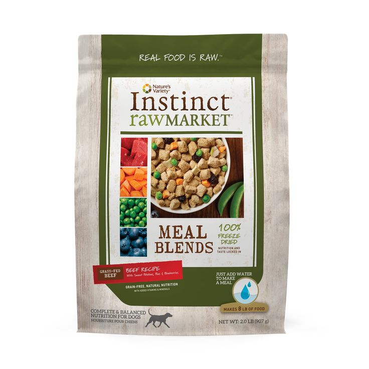 Nature's+Variety+Instinct+Raw+Market+Blends+Beef+Freeze+Dried+Dog+Food+-+ - http://www.petco.com/shop/en/petcostore/product/natures-variety-instinct-raw-market-blends-beef-freeze-dried-dog-food