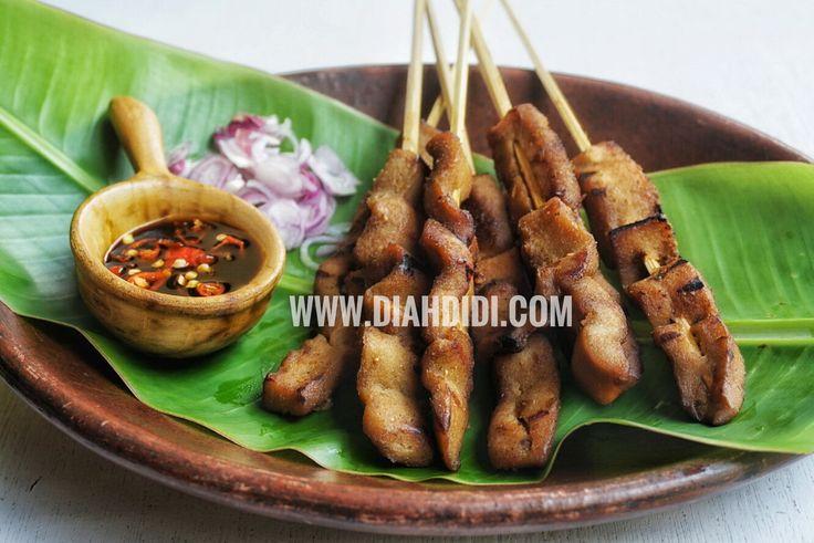 Diah Didi's Kitchen: Sate Kere Versi Pedas