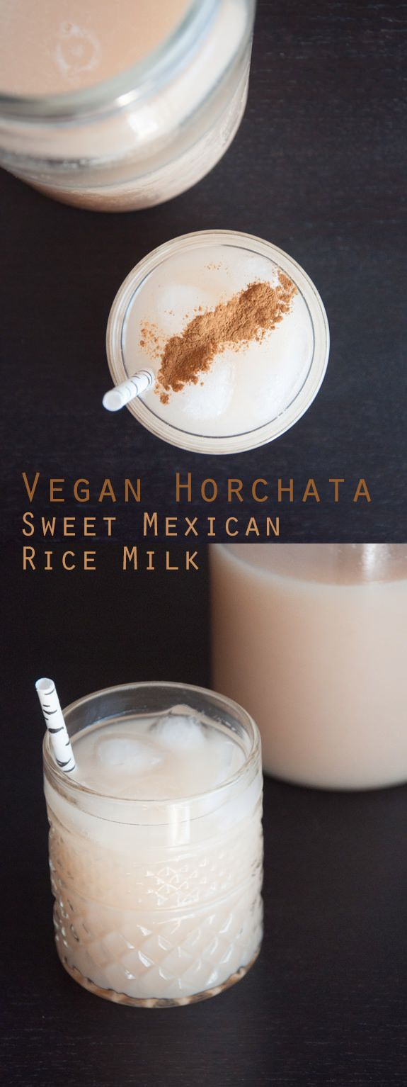 #Vegan Horchata - Sweet Mexican Rice Milk made out of Basmati Rice!