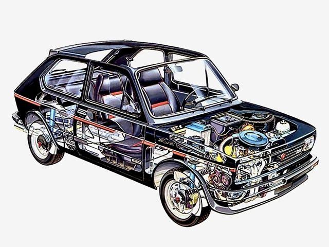 1978-1981 Fiat 127 Sport - Illustration uncredited