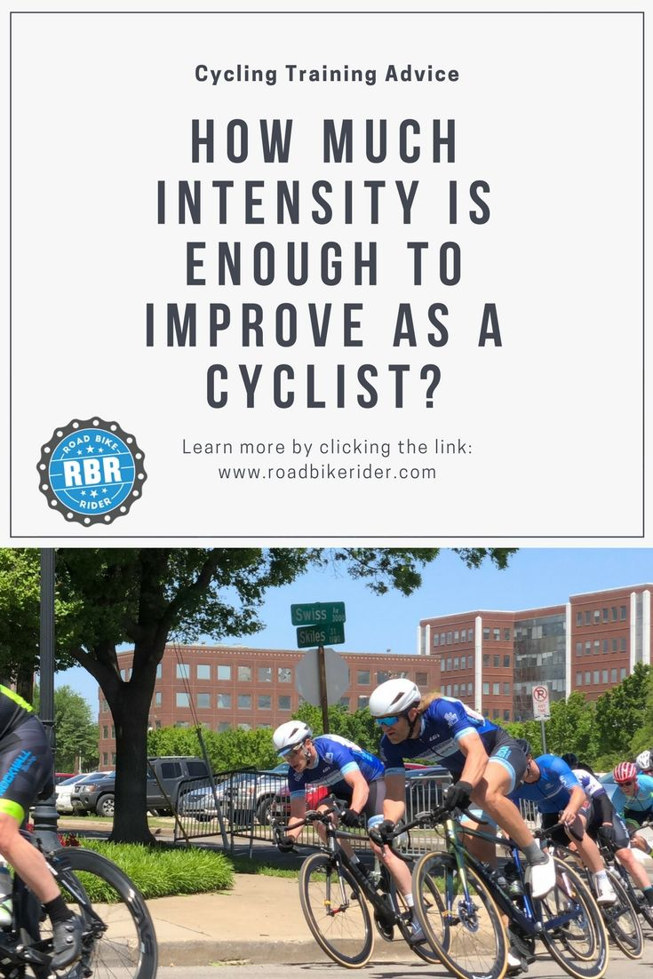 How Much Intensity Is Enough Cycling Workout Cycling For