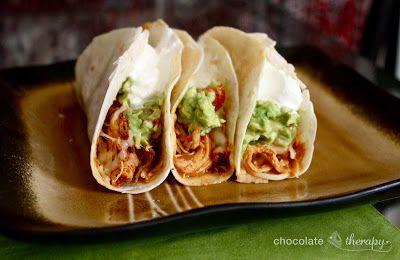 taco met kip