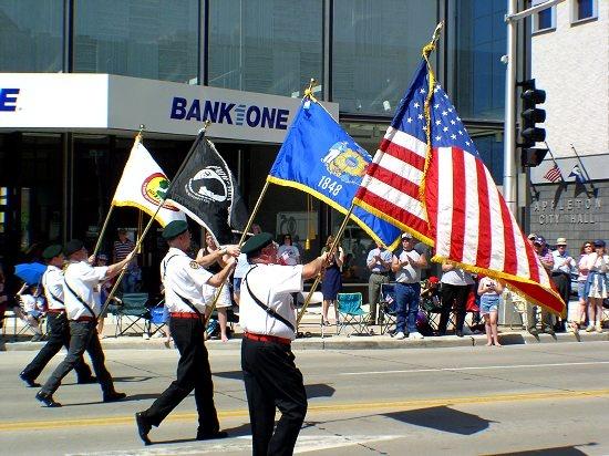 us veterans day flag