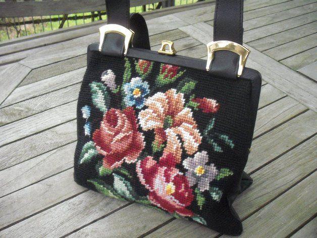 Vintage - Gobelin Handtasche - 60er  Privatverkauf - keine Rücknahme