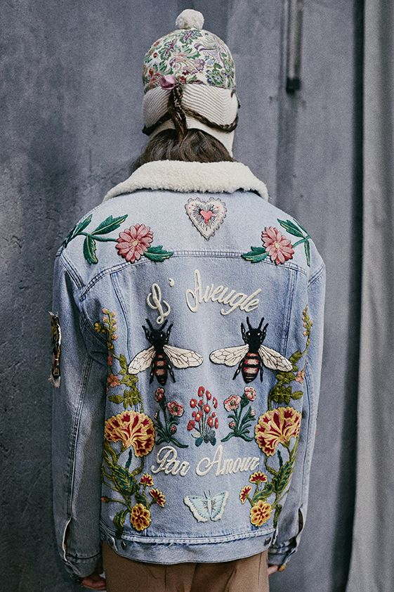 Gucci embroideries