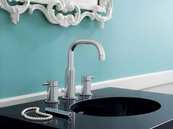 Quality Benton Faucets from Moen : Quality Faucets Of Moen Benton Faucet With Blue Wall ~ http://modtopiastudio.com/quality-benton-faucets-from-moen/