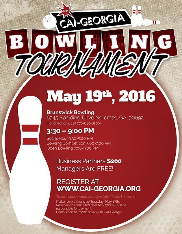 CAI Blowing Tournament Flyer by John Sexton