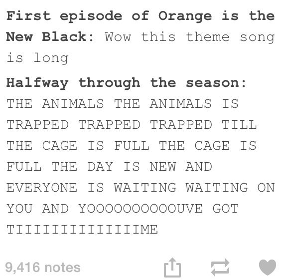 Orange Is The New Black. This EXACTLY WHAT HAPPENS.