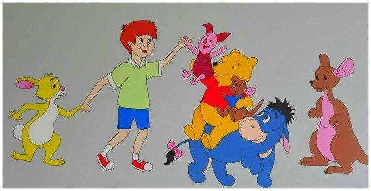 winnie the pooh# balbina # painted wall # disney