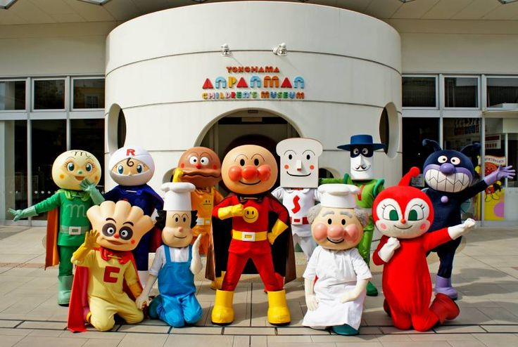 Anpanman Museum in Yokohama
