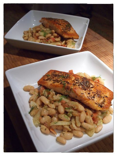 ... white beans provencal (along side the braised or roasted protein of