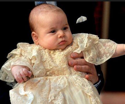 El regalo Que le dio Pippa Middleton al príncipe Jorge