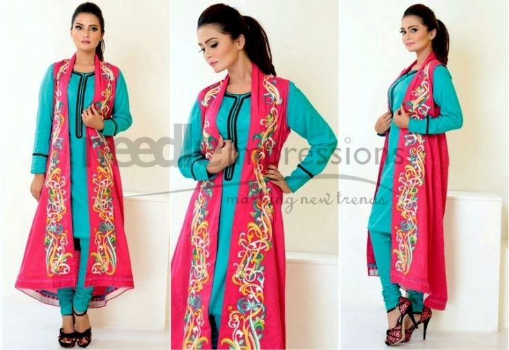 Needle Impressions Eid Dresses Collection 2014 Vol-1 & Vol-